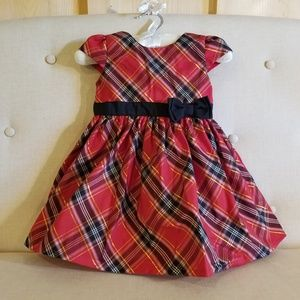 Carter's red plaid dress